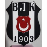 Beşiktaş Strafor 3D Logo