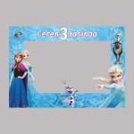 Elsa Tasarımlı Doğum Günü Fotoğraf Çerçevesi - Hatıra Çerçevesi