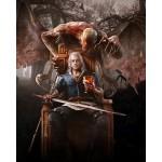 The Witcher 3 Oyun Posteri - Rivialı Geralt Afişleri