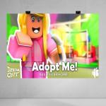 Adopt Me Baskılı Poster