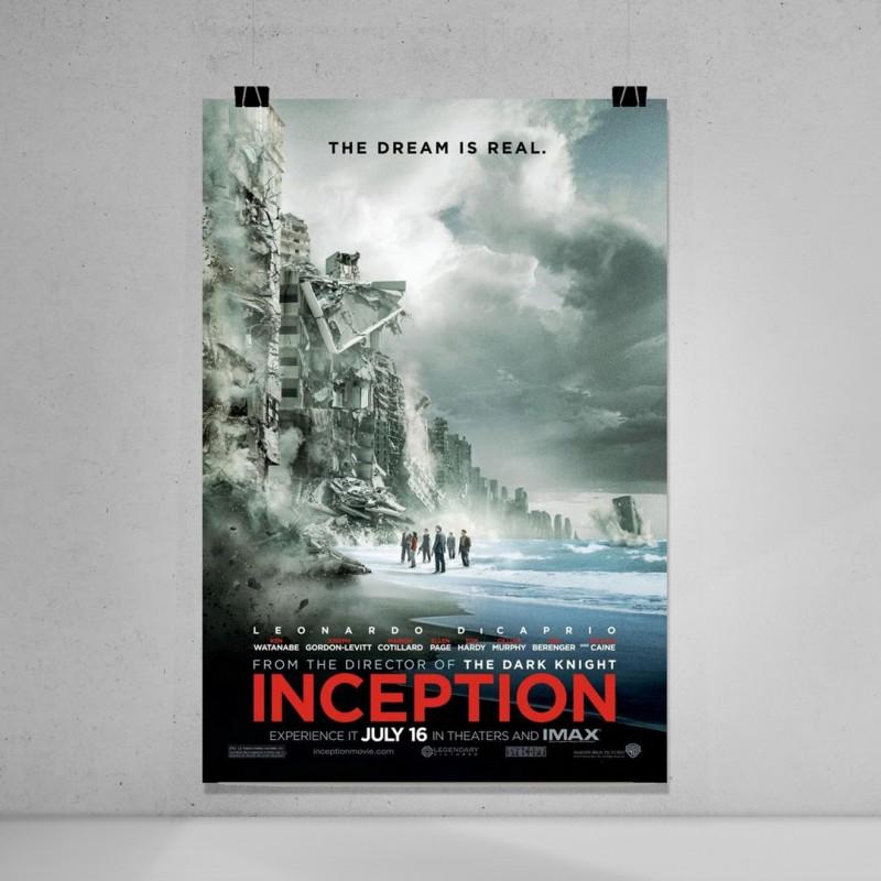 ınception sinema film afişi