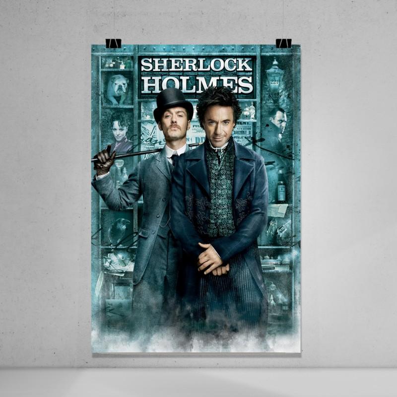 Sherlock holmes sinema film afişi