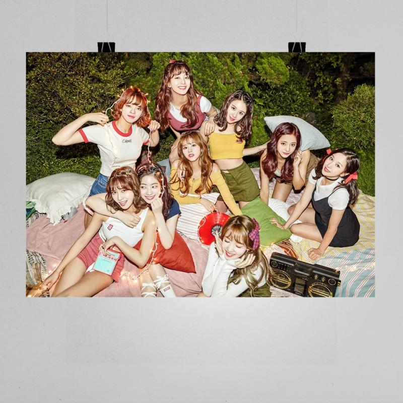 Twice Müzik Grubu İmzalı Poster - K Pop Afişleri