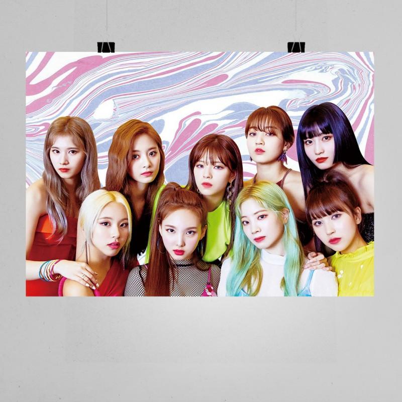 Twice Müzik Grubu Posteri - K Pop Afişleri